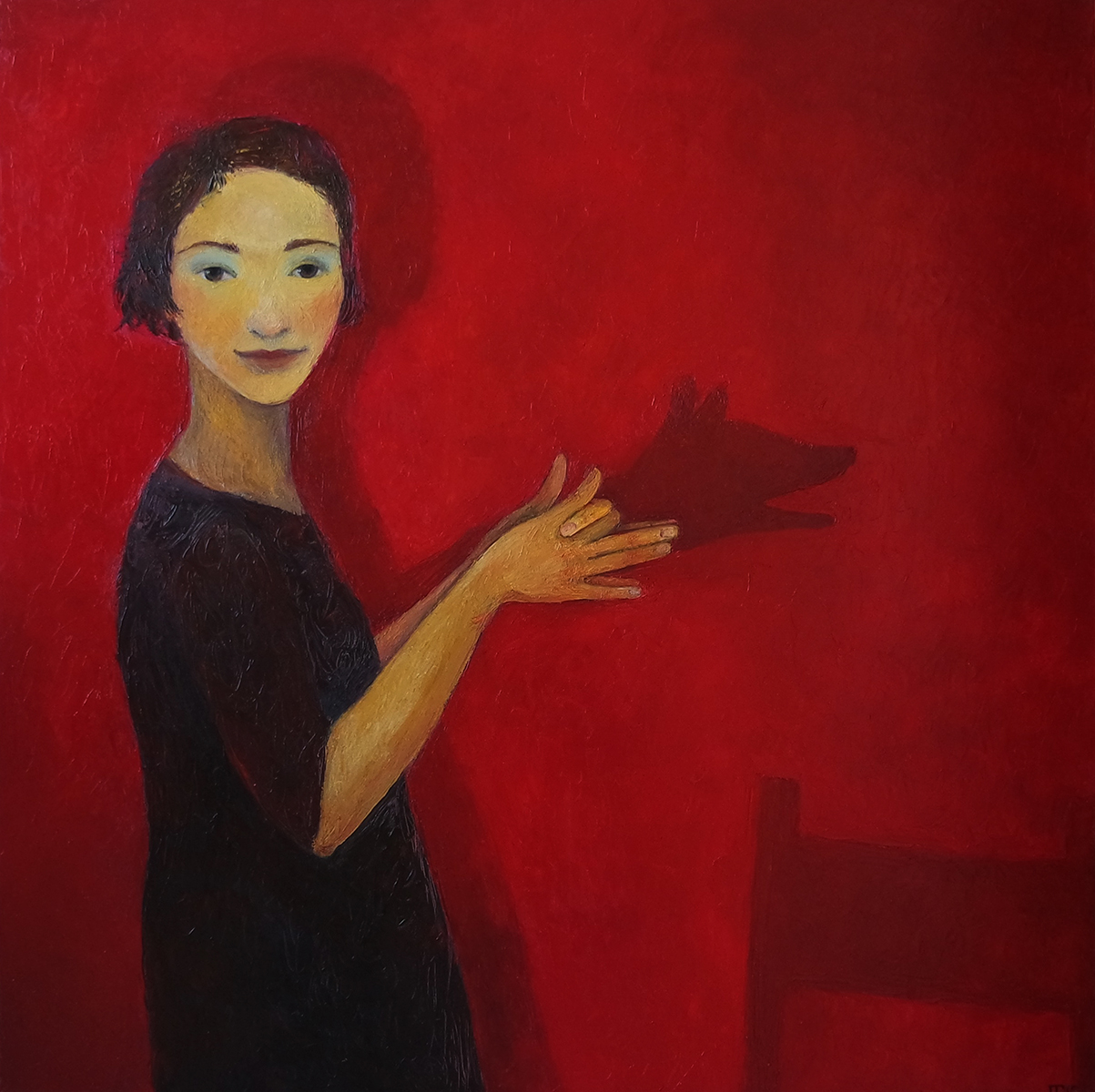 Doggy_Oil-Canvas_100x100_2550€_2015